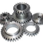 Engrenagens de equipamentos industriais