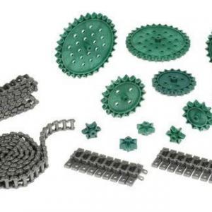 Engrenagens para correntes de rolos
